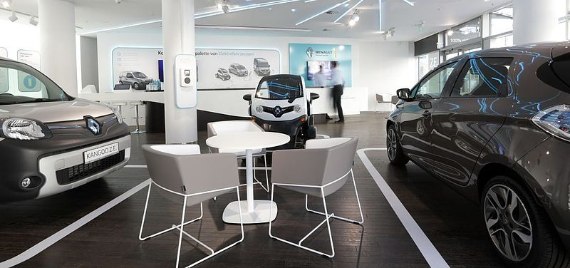 Neu in Berlin: Renault Electric Vehicle Experience Center